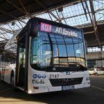 Оцветиха номерата на автобусите в градския транспорт в София